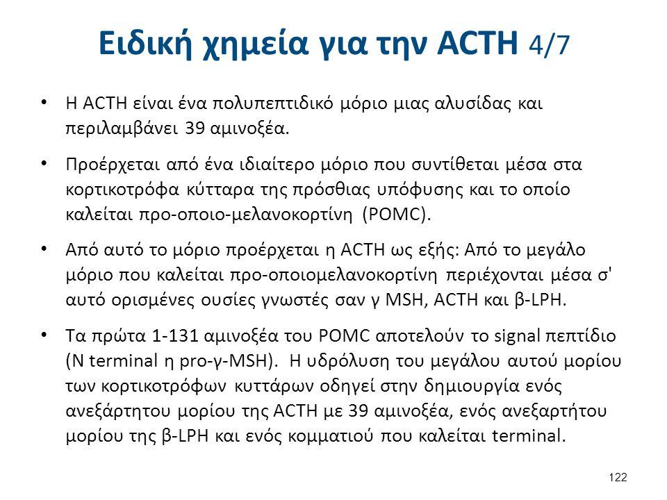 Ειδική χημεία για την ACΤH 5/7