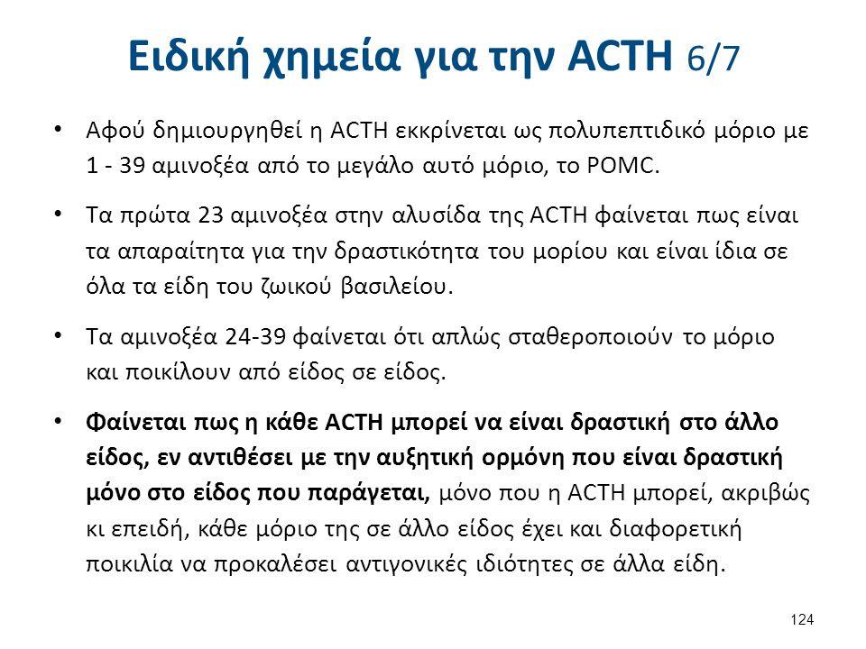 Ειδική χημεία για την ACΤH 7/7