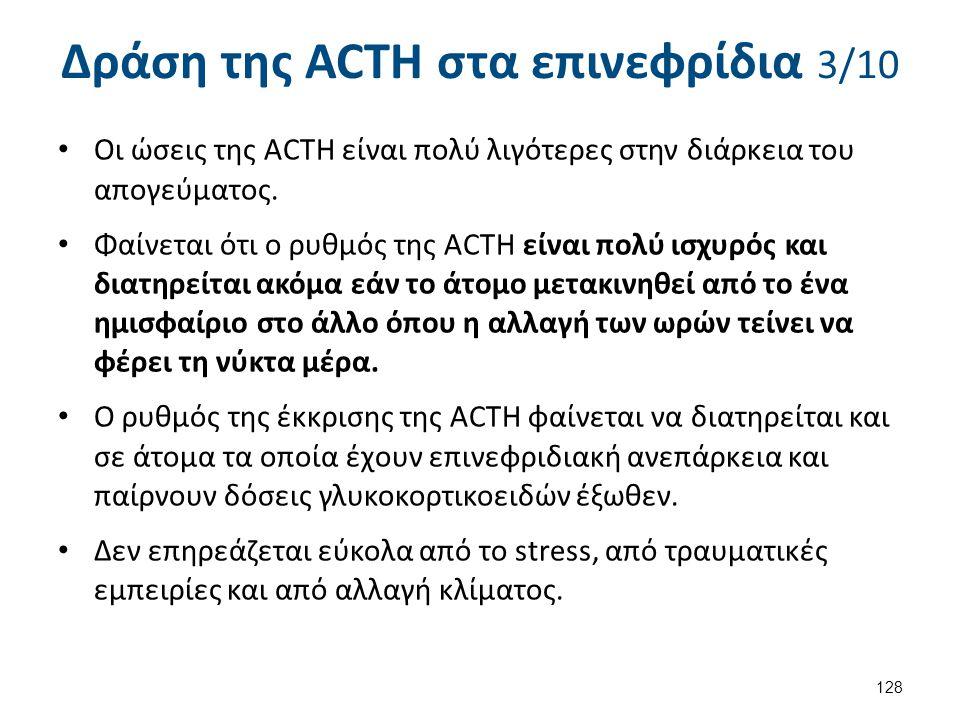 Δράση της ACTH στα επινεφρίδια 4/10