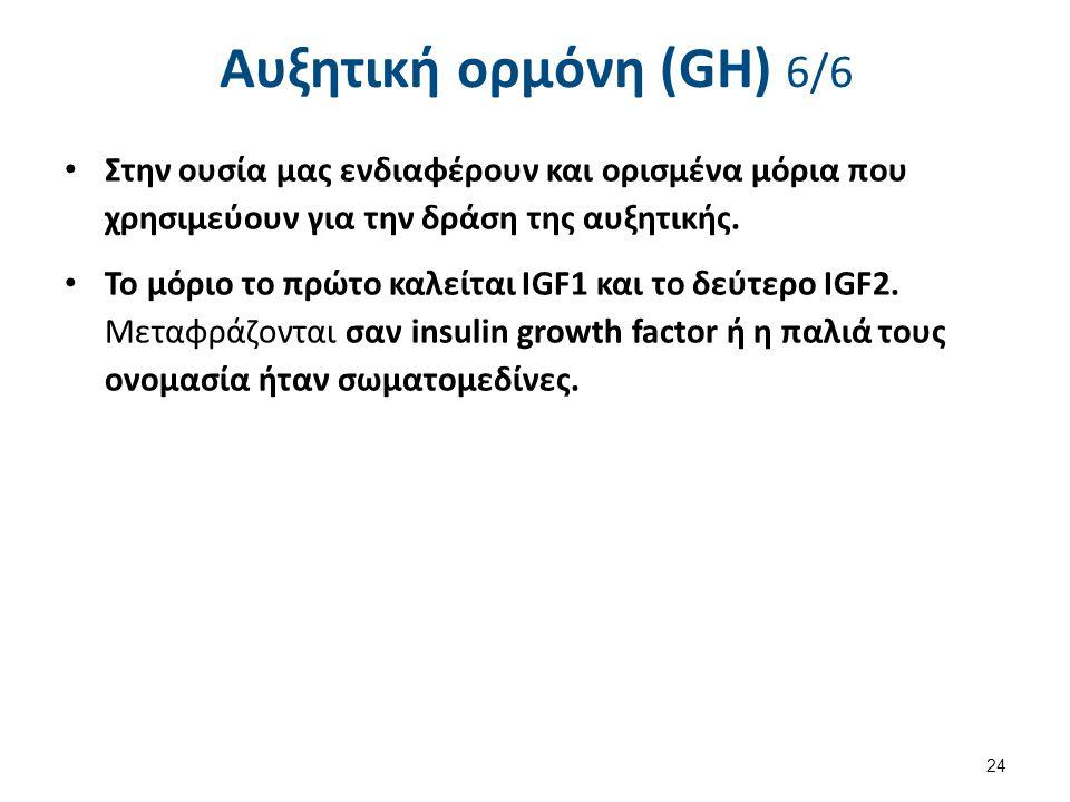 Παραγωγή και δράση της αυξητικής-Δράση του IGF-1