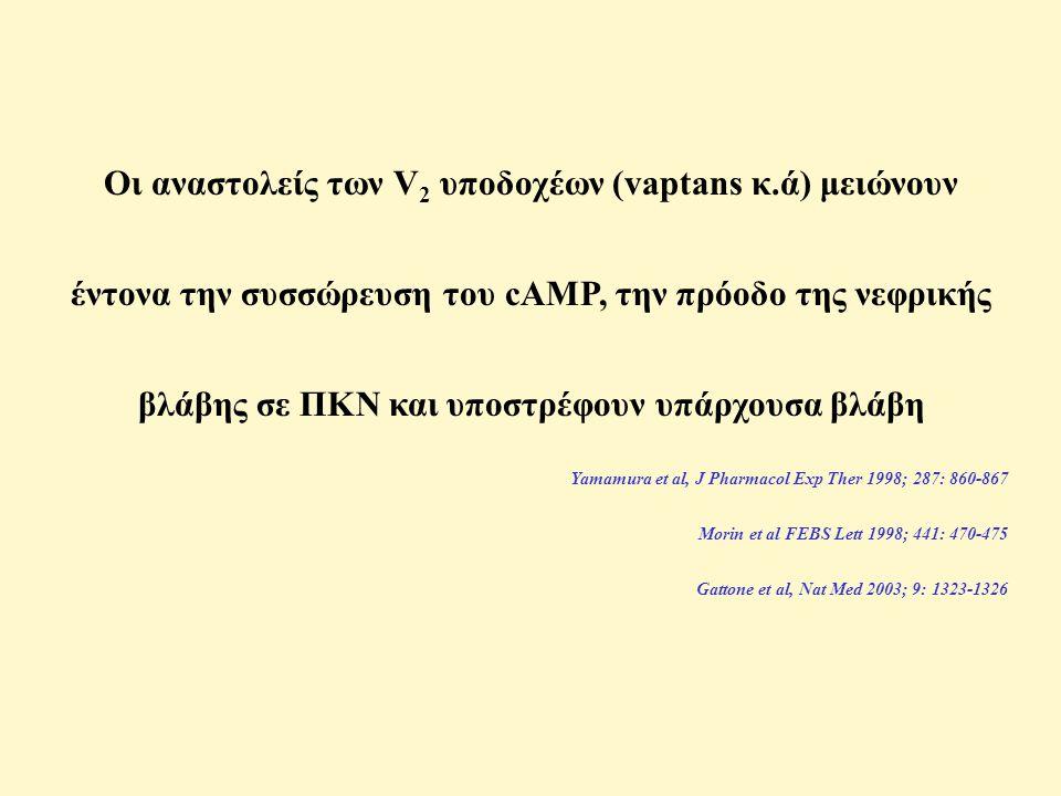 Οι αναστολείς των V2 υποδοχέων (vaptans κ