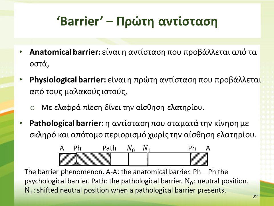'Barrier'