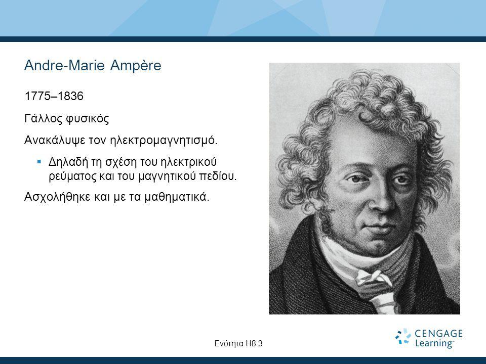Andre-Marie Ampère 1775–1836 Γάλλος φυσικός