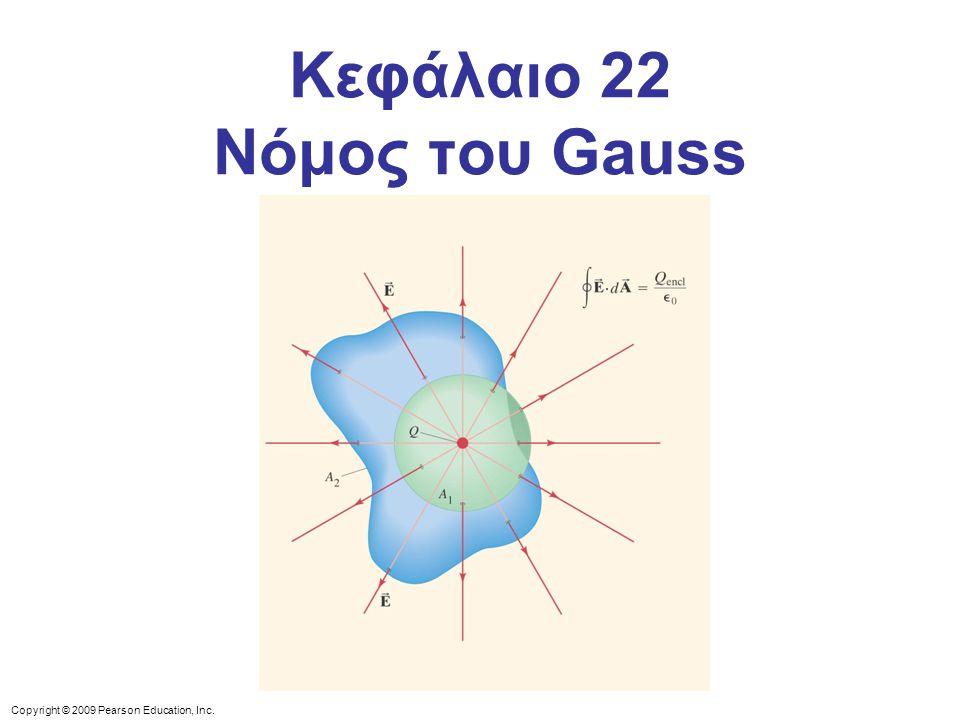 Κεφάλαιο 22 Νόμος του Gauss