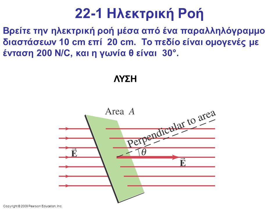 22-1 Ηλεκτρική Ροή