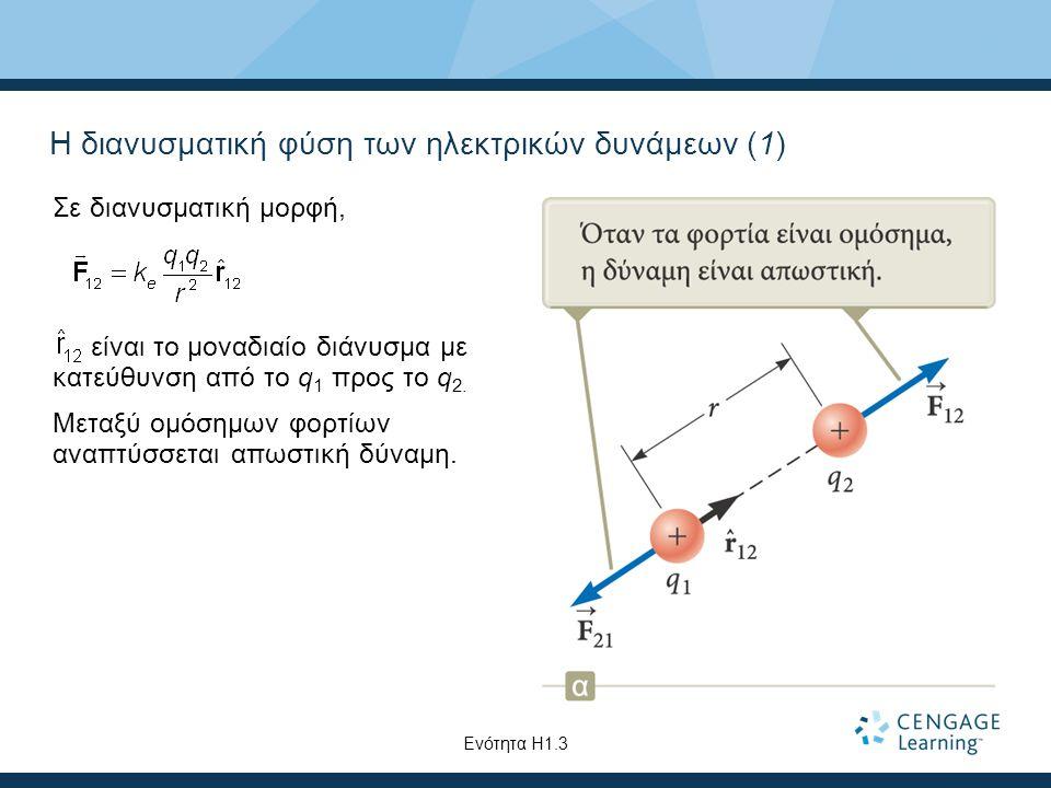 Η διανυσματική φύση των ηλεκτρικών δυνάμεων (1)