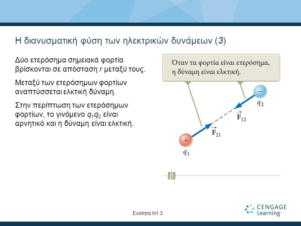 Η διανυσματική φύση των ηλεκτρικών δυνάμεων (3)