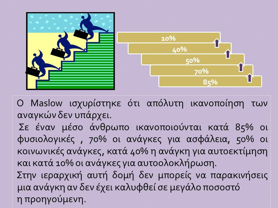10% 40% 50% 70% 85%