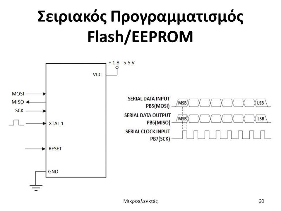 Σειριακός Προγραμματισμός Flash/EEPROM