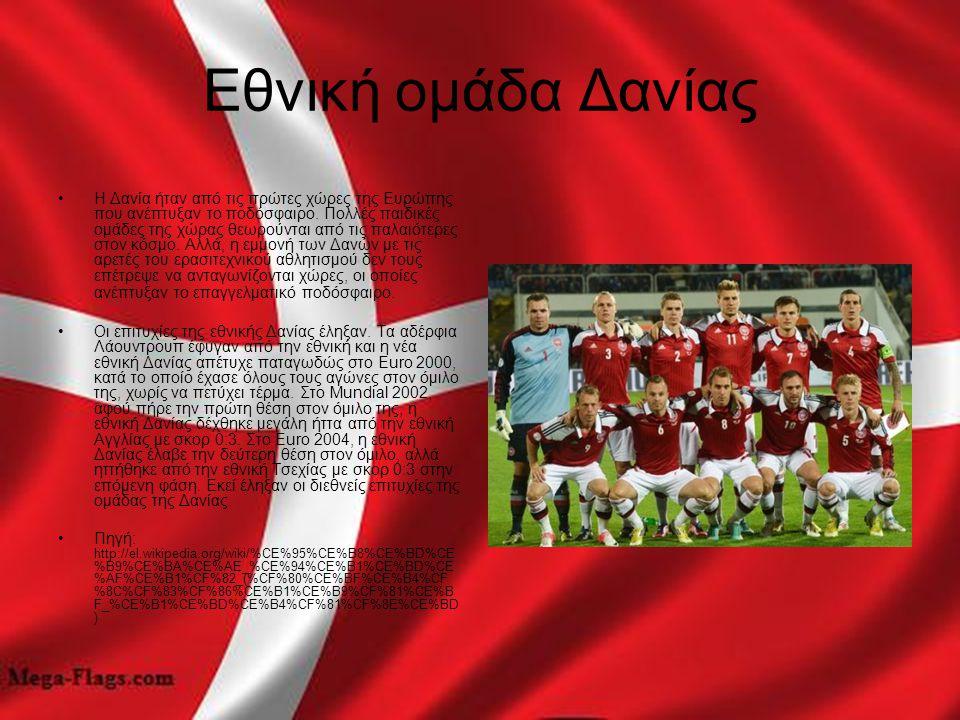 Εθνική ομάδα Δανίας
