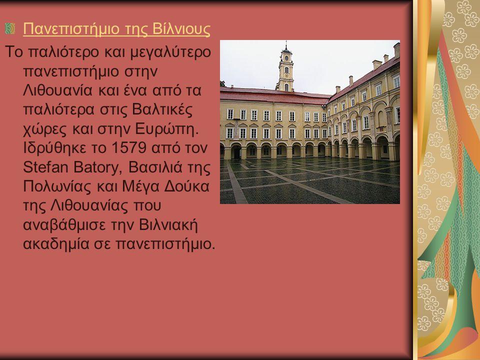 Πανεπιστήμιο της Βίλνιους