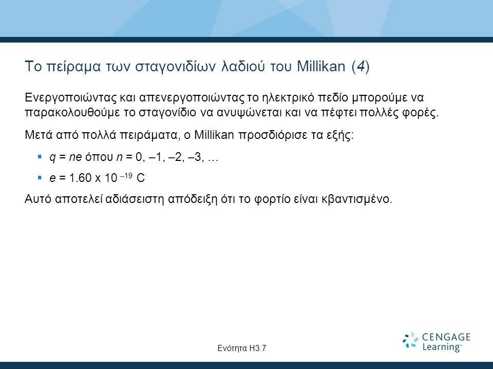 Το πείραμα των σταγονιδίων λαδιού του Millikan (4)