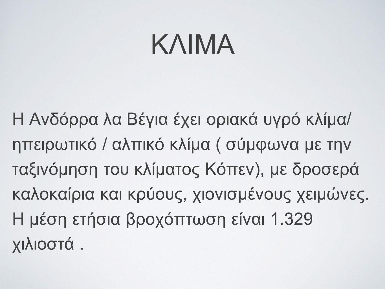 ΚΛΙΜΑ