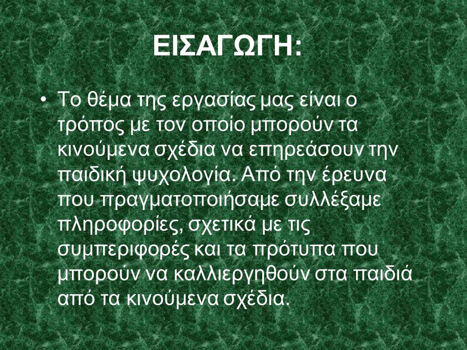 ΕΙΣΑΓΩΓΗ: