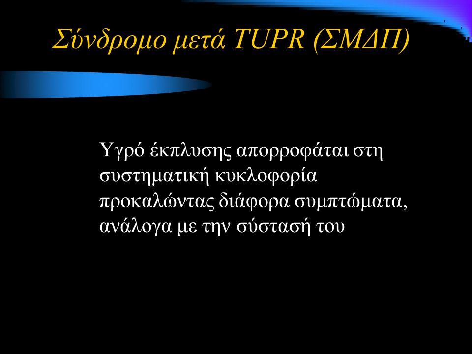 Σύνδρομο μετά TUPR (ΣΜΔΠ)