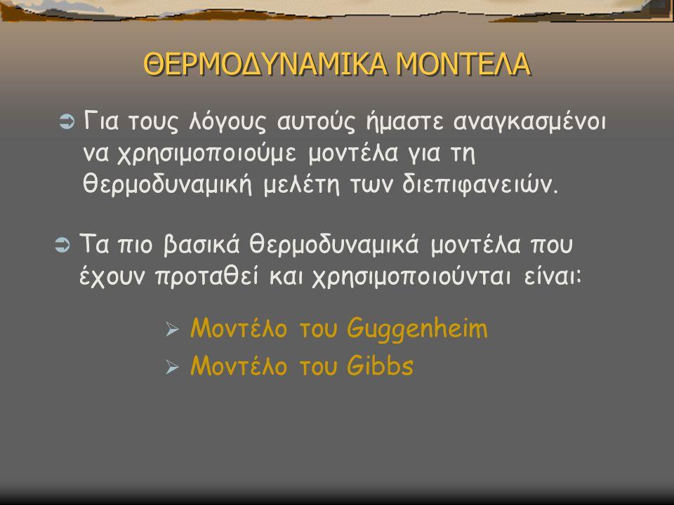 ΘΕΡΜΟΔΥΝΑΜΙΚΑ ΜΟΝΤΕΛΑ