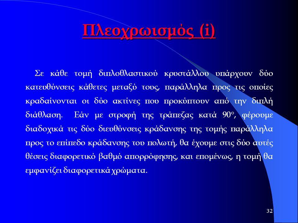 Πλεοχρωισμός (i)