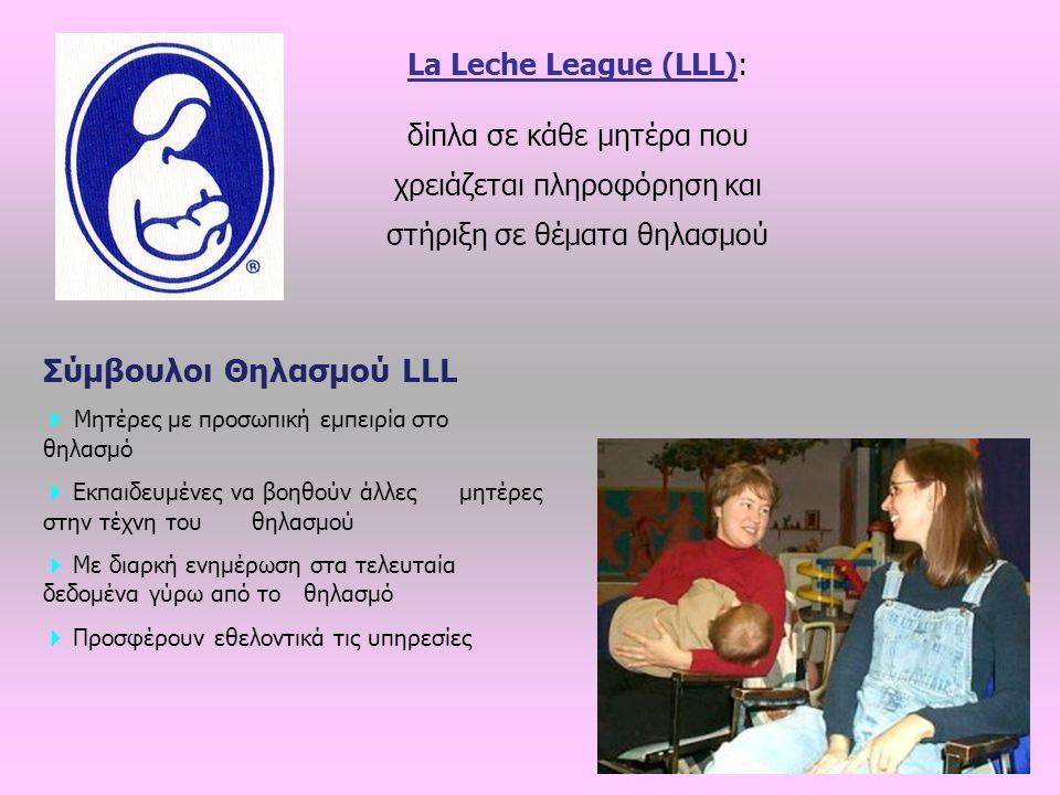 Σύμβουλοι Θηλασμού LLL
