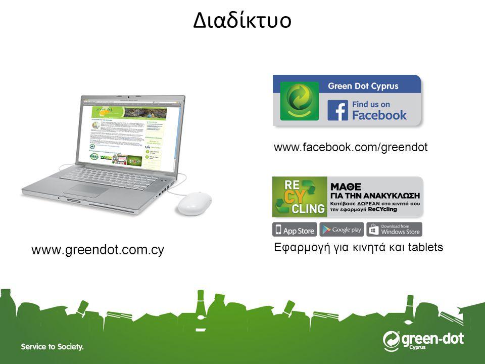 Διαδίκτυο www.greendot.com.cy www.facebook.com/greendot