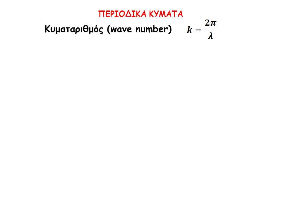 Κυματαριθμός (wave number)