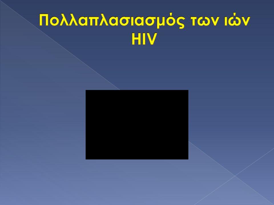 Πολλαπλασιασμός των ιών HIV