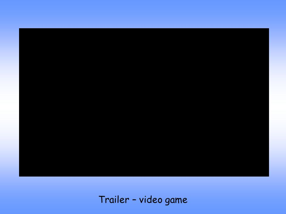 Trailer – video game
