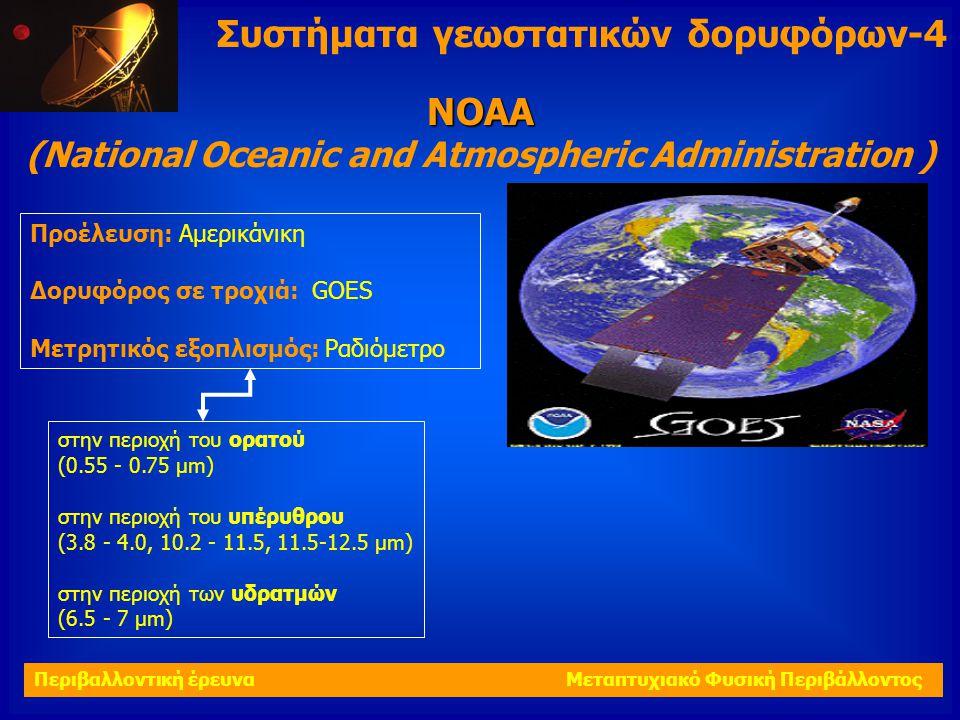 Συστήματα γεωστατικών δορυφόρων-4 ΝΟΑΑ