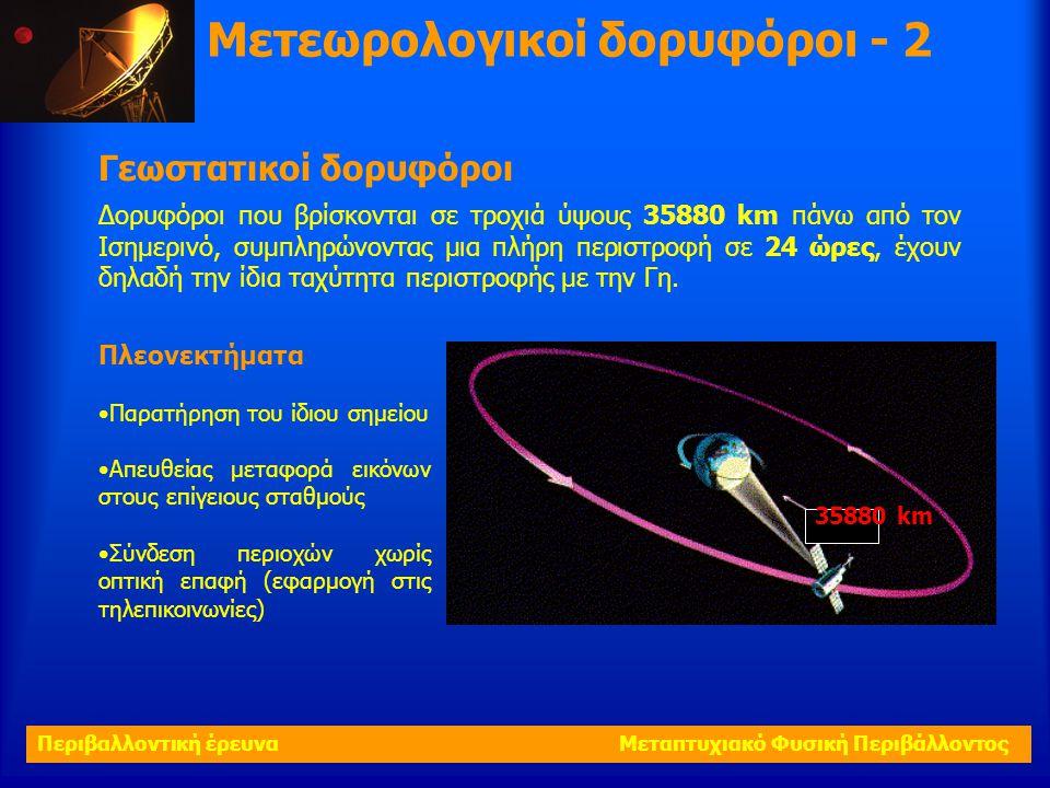 Μετεωρολογικοί δορυφόροι - 2
