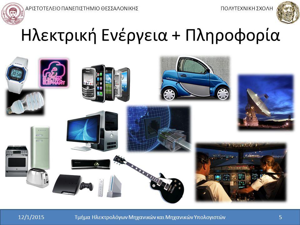 Ηλεκτρική Ενέργεια + Πληροφορία
