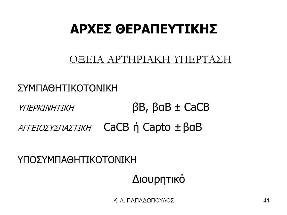 ΟΞΕΙΑ ΑΡΤΗΡΙΑΚΗ ΥΠΕΡΤΑΣΗ