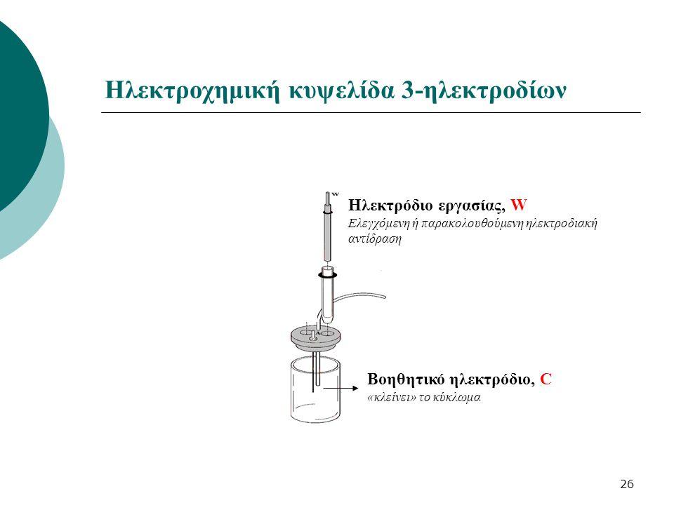 Ηλεκτροχημική κυψελίδα 3-ηλεκτροδίων
