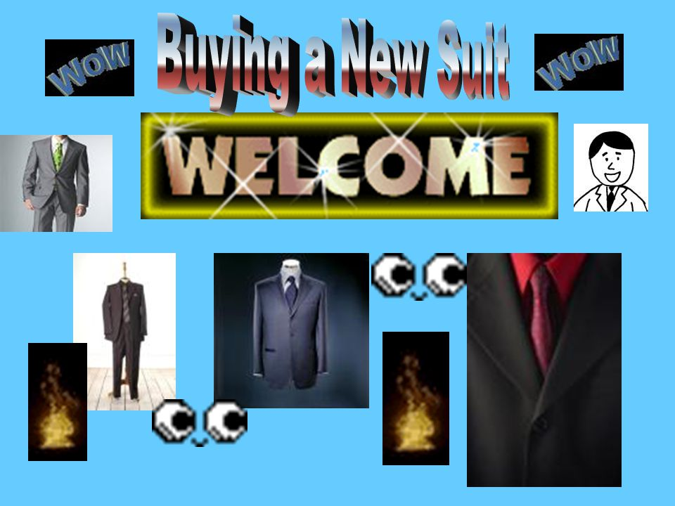 Buying a New Suit