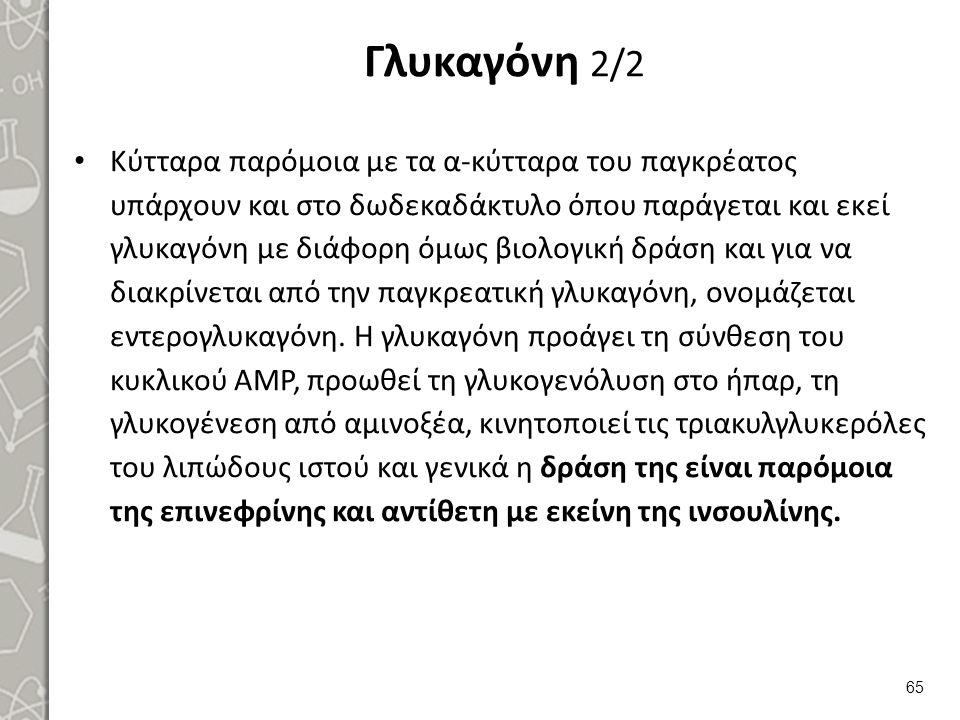 Γαστρεντερικές και νεφρικές ορμόνες 1/6