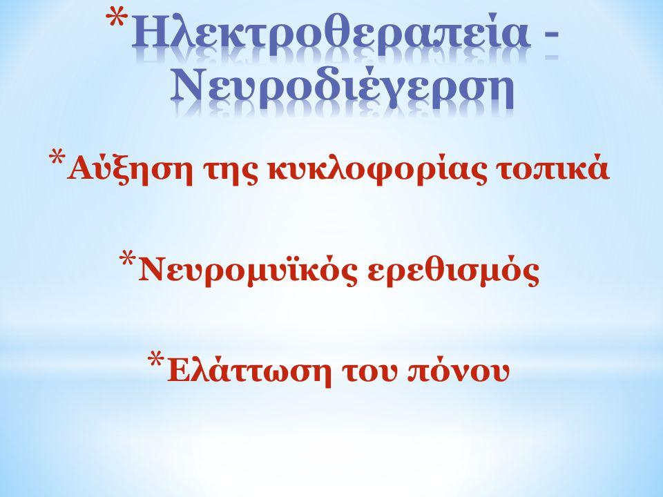 Ηλεκτροθεραπεία - Νευροδιέγερση