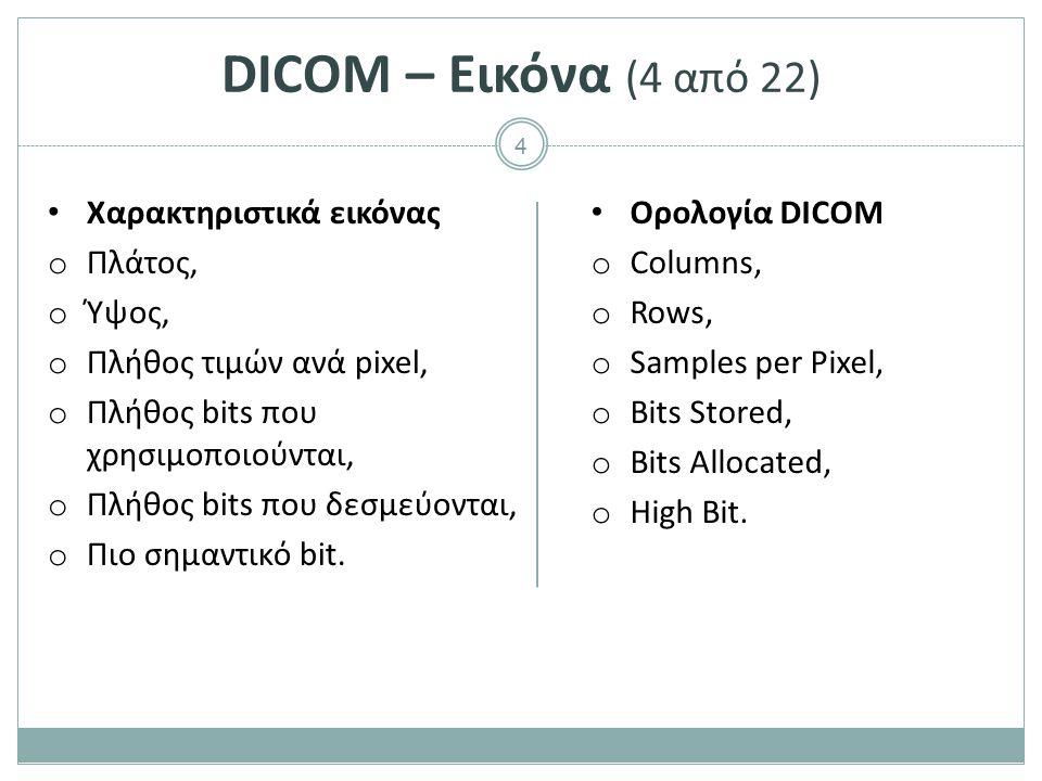 DICOM – Εικόνα (5 από 22) Εμφάνιση εικόνας