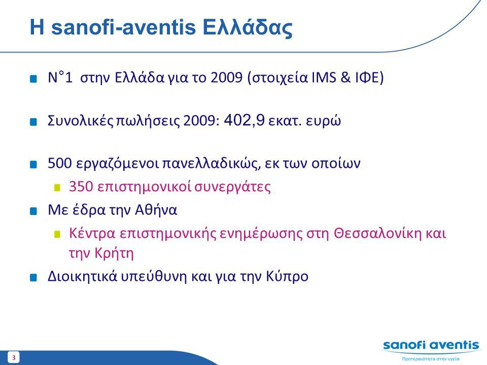 Η sanofi-aventis Ελλάδας