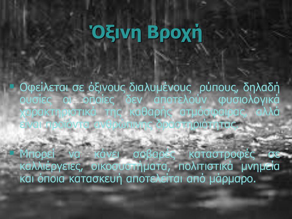 Όξινη Βροχή