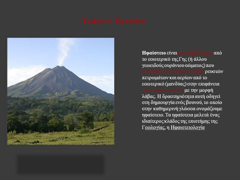 Τι είναι το Ηφαίστειο