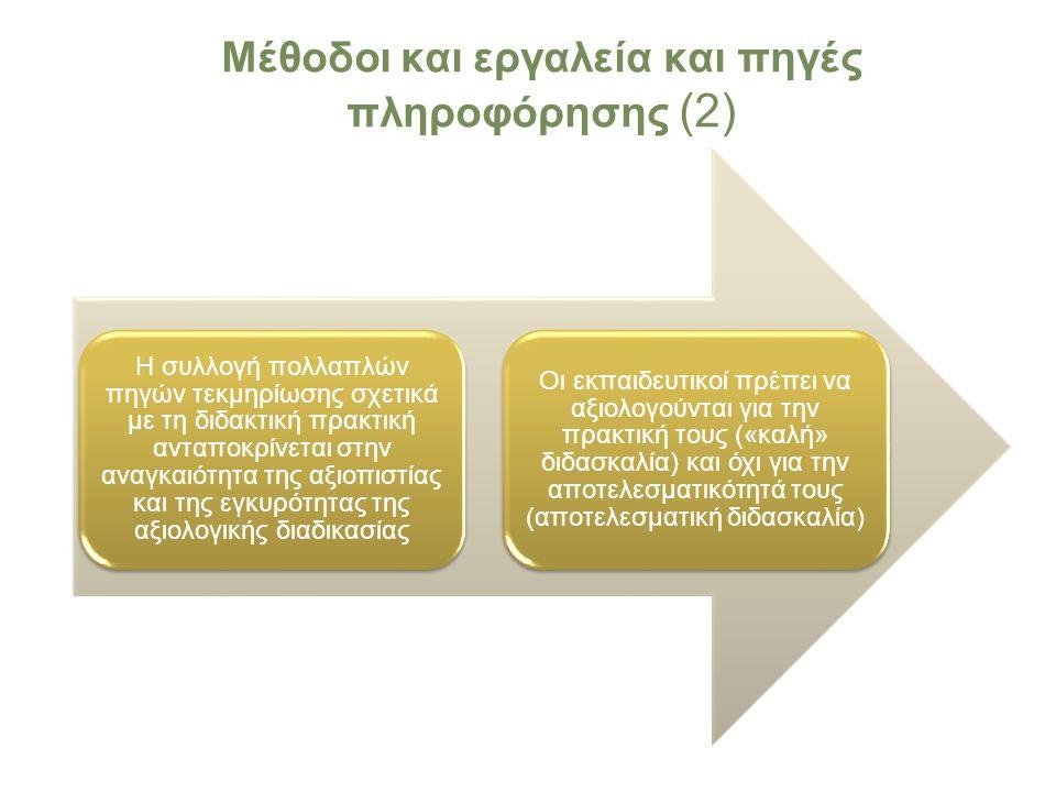 Μέθοδοι και εργαλεία και πηγές πληροφόρησης (2)