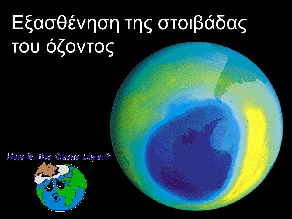 Εξασθένηση της στοιβάδας του όζοντος