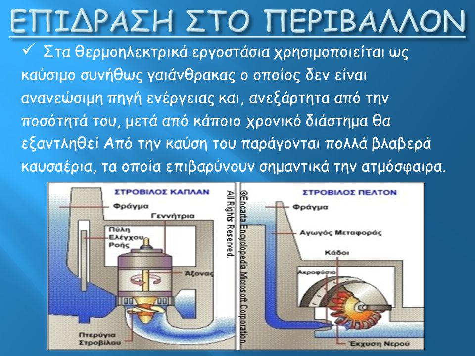 ΕΠΙΔΡΑΣΗ ΣΤΟ ΠΕΡΙΒΑΛΛΟΝ