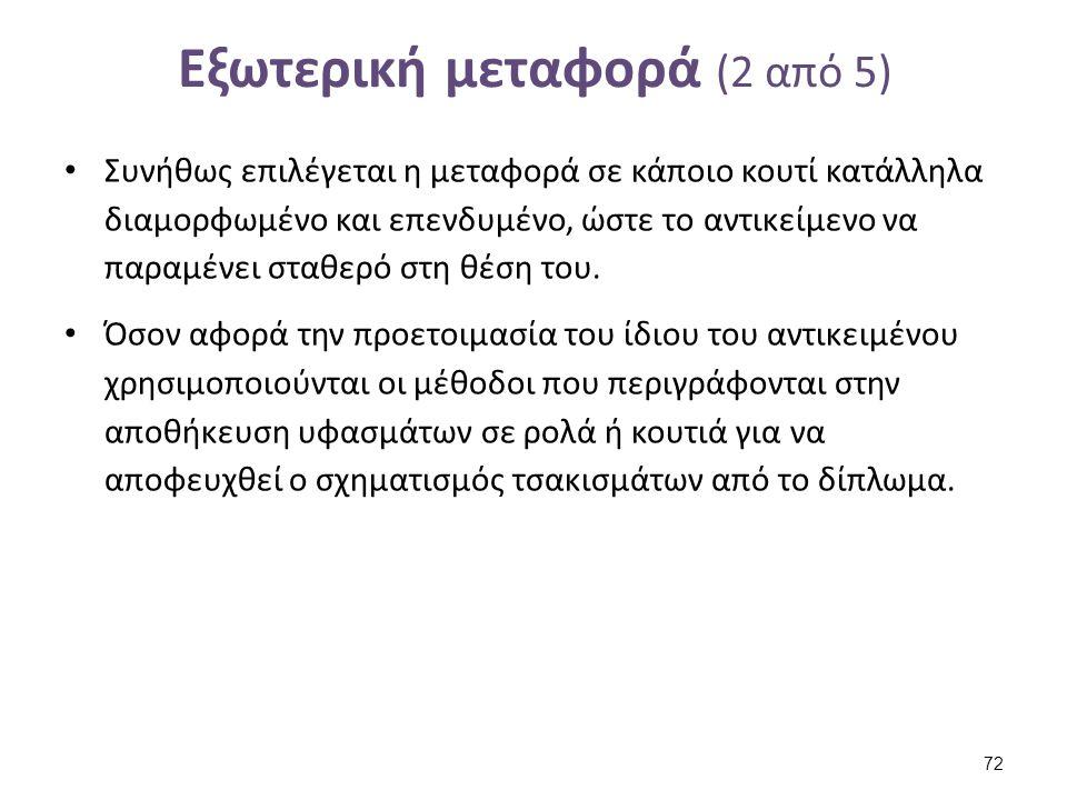Κουτί μεταφοράς insidetheconservatorsstudio.blogspot.gr. Κατασκευή βάσης από μπλοκ ethafoam για την ασφαλή μεταφορά ενδύματος.