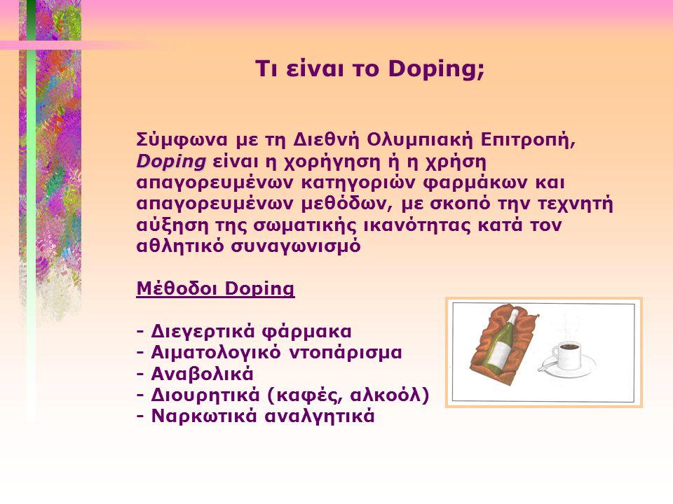 Tι είναι το Doping;
