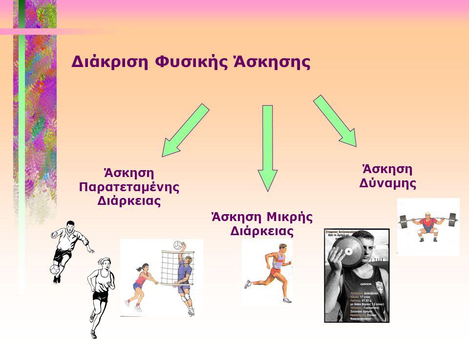 Διάκριση Φυσικής Άσκησης