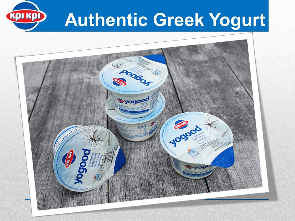 Authentic Greek Yogurt