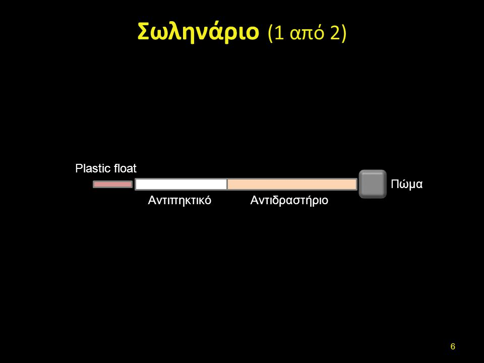 Σωληνάριο (2 από 2) Plastic Float