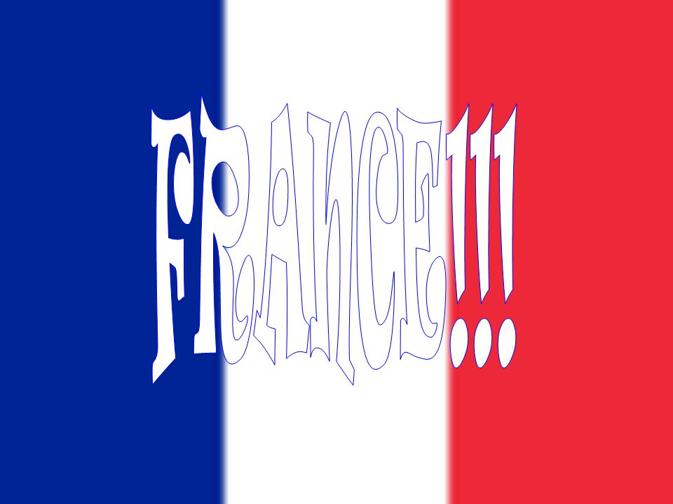 FRANCE!!!