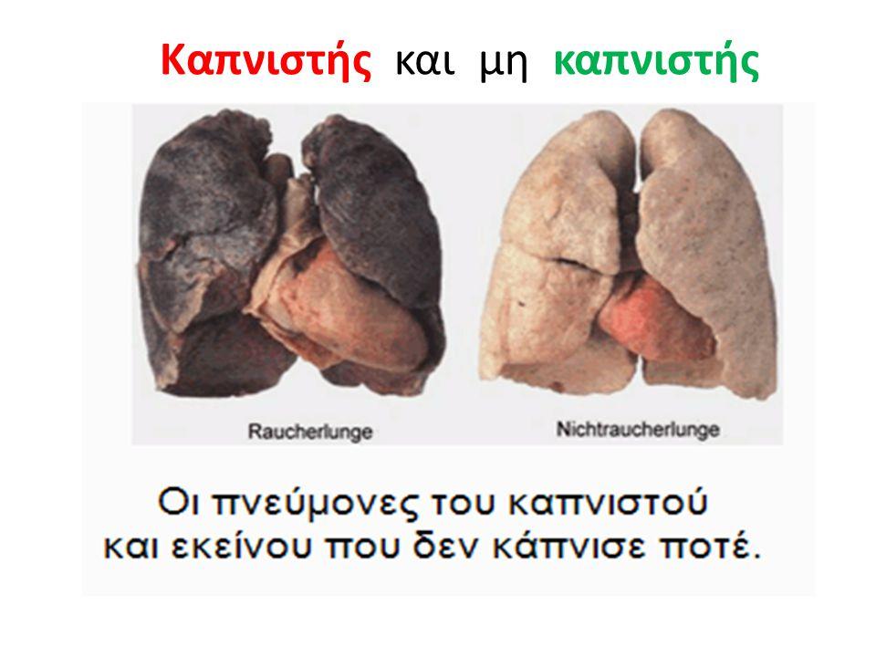 Καπνιστής και μη καπνιστής
