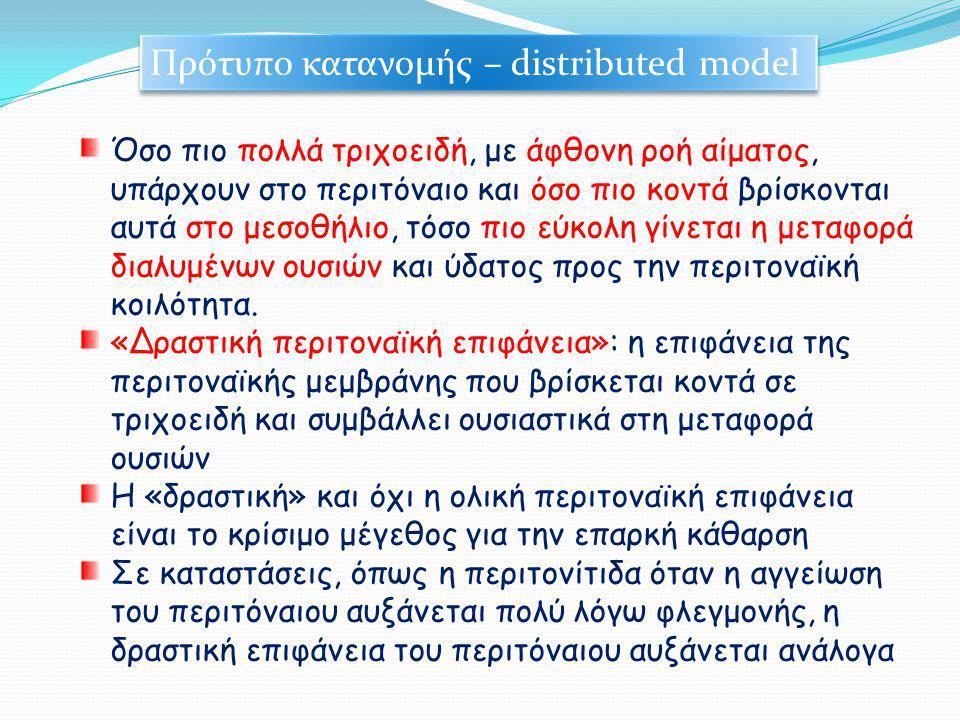 Πρότυπο κατανομής – distributed model