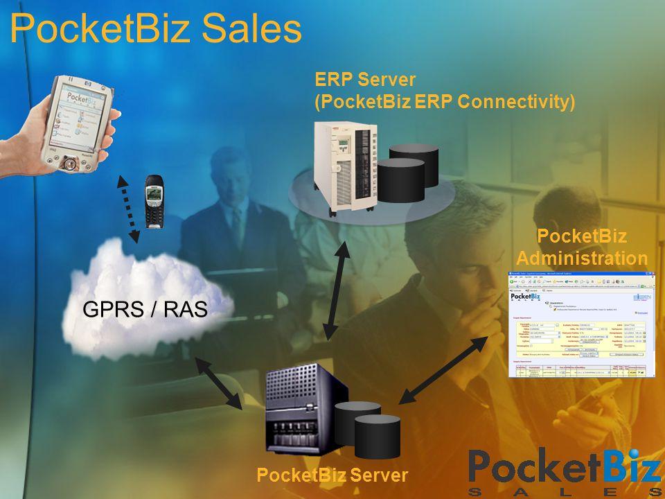 PocketBiz Sales GPRS / RAS ERP Server (PocketBiz ERP Connectivity)
